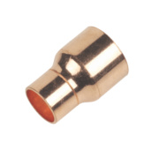 End Feed Reducing Coupler 22 x 15mm Pack of 2