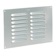 Map Vent Louvre Vent Silver 152 x 229mm