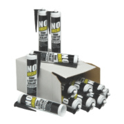 No Nonsense Roof & Gutter Sealant Black 310ml Pack of 12