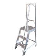 Machine Steps Aluminium 4 Treads 0.98m
