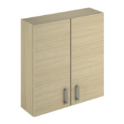 Bathroom Wall Unit Oak Slab 600 x 200 x 660mm
