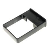 Black Square Line Easyfit Clip Pack of 10