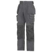 Snickers Rip-Stop Pro-Kevlar Floorlayer Trousers Grey/Black 31