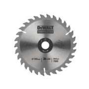 DeWalt DT1167-QZ Circular Saw Blade Portable 165 x 20mm 30T