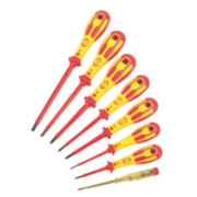 C.K Dextro VDE Screwdriver Set SLP/PZD 8Pcs