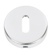 Standard Keyway Escutcheon Polished Stainless Steel 52mm Pack of 2