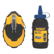 DeWalt Chalk Line Reel & Blue Chalk Set