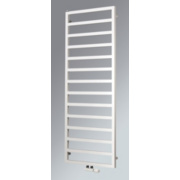 Venus Vertical Designer Towel Radiator White 1470 x 600mm 2235BTU