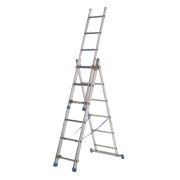 143107 Aluminium Combination Ladder 3 x 7 Rungs 4.23m