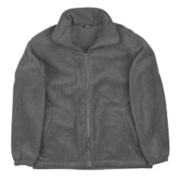 Site Oak Full-Zip Fleece Grey Large 42-44