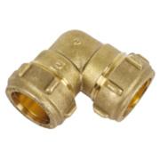 Conex Elbow 601 22mm DZR