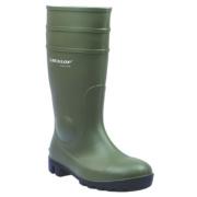 Dunlop. Protomastor 142VP Wellington Boots Green Size 10