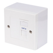 Philex Cat 6 RJ45 Single Outlet Kit