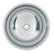 Franke Rondo S/Steel 1 Bowl Undermount Kitchen Sink No Tap Holes 387mm