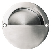 Flush Pulls 90mm Satin Stainless Steel