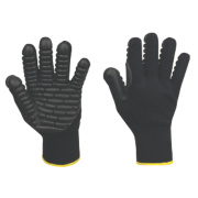 Anti-Vibration Gloves Black Extra Large