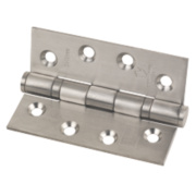 Fire Door Hinge Grade 13 Satin Stainless Steel 102 x 76mm Pk3