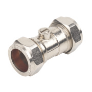 Isolating Valve 22mm Pack of 2