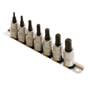 Laser Hex Bit Socket Set 3/8