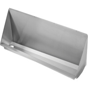 Franke Wall-Mounted Water-Free Urinal LH Waste S/Steel 1200 x 300 x 578mm