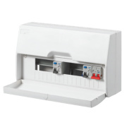 LAP 10-Way Dual RCD Consumer Unit