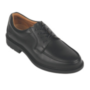City Knights Derby Tie Executive Safety Shoes Black Size 6