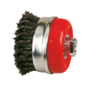 Titan Wire Brush Twist Cup 65mm M14