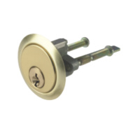 Century Replacement Night Latch Cylinder Brass-Plated 60mm