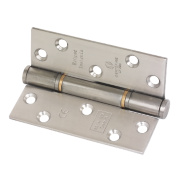 Eclipse Grade 13 Fire Door Insignia Hinges Satin Stainless Steel 102 x 76mm Pk3