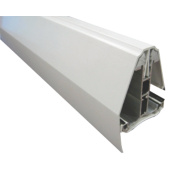 Corotherm Self-Supporting End Bar White x 4000mm