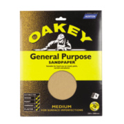 Oakey General Purpose Glass Paper Medium Pack of 5