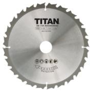 Titan TCT Circular Saw Blade 24T 216 x 20/25/30mm