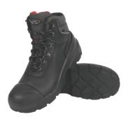 Uvex Quatro Pro Safety Boots Black Size 8