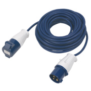 CED 240V Extension Lead Blue 1.5mm x 14m
