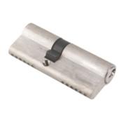 ERA 6-Pin Euro Cylinder Lock 35-45 (80mm) Satin Nickel