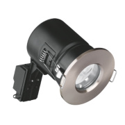 Aurora Fixed LED Satin Nickel 50W 240V
