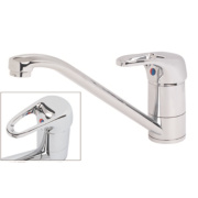 Swirl Loop Single Lever Mono Mixer Kitchen Tap Chrome