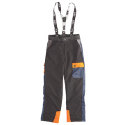 Site Chainsaw Trousers Black/Blue 31