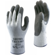 Showa Best 451 Thermal Grip Gloves White Large