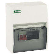 Crabtree 4-Way Fully Insulated Main Switch Consumer Unit