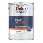 Dulux Trade High Gloss Pure Brilliant White 1Ltr