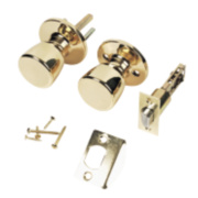 ERA Mortice Passage Knob Set Brass 67mm