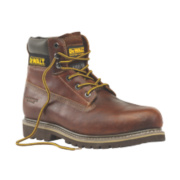 DeWalt Platinum Welted Safety Boots Tan Size 10