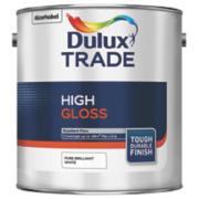 Dulux Trade High Gloss Pure Brilliant White 2.5Ltr