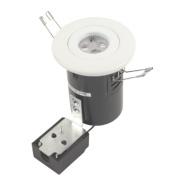 JCC Lighting Fixed Fire Rated LED Downlight White 5W 240V