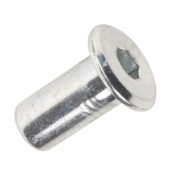 Joint Connector Nuts M6 x 17mm Pack of 50