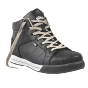 Site Shale Hi-Top Safety Boots Black Size 9