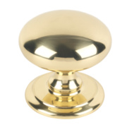 Carlisle Brass Door Knob Polished Brass 95mm