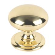 Carlisle Brass Door Knob Polished Brass 95mm