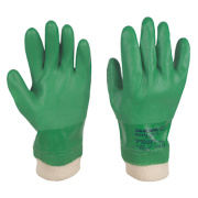 Showa Best 600 PVC Waterproof Gloves Green Large